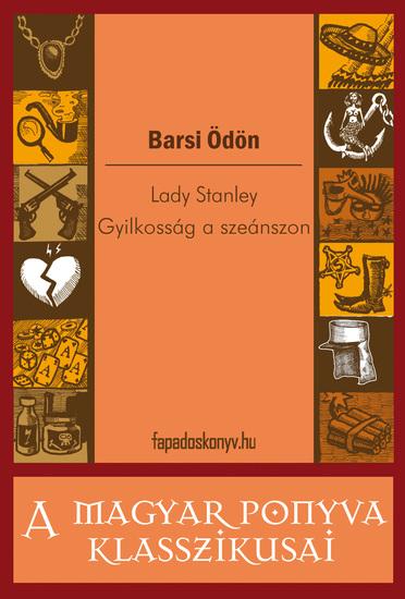 Lady Stanley - Gyilkosság a szeánszon - cover