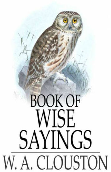 Book of Wise Sayings - cover