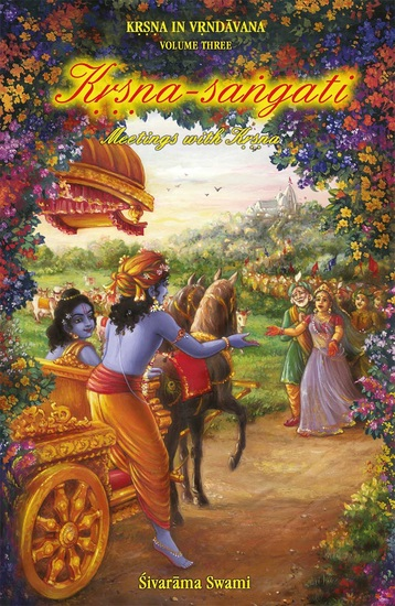 Kṛṣṇa-saṅgati - Meetings with Kṛṣṇa - cover