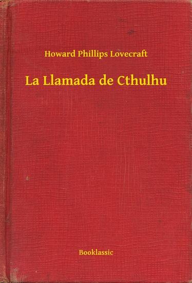 La Llamada de Cthulhu - cover