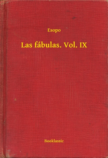 Las fábulas Vol IX - cover