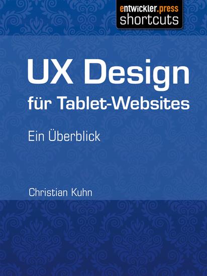 UX Design für Tablet-Websites - Ein Überblick - cover