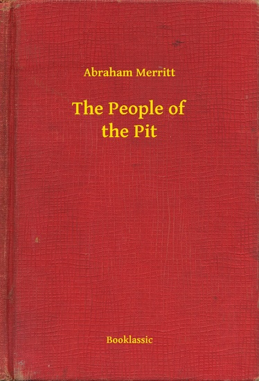 The People of the Pit - cover