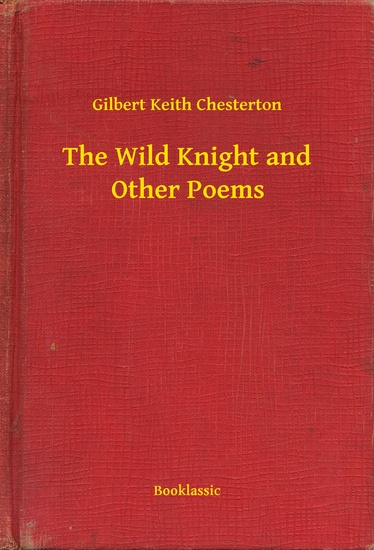 The Wild Knight and Other Poems - cover