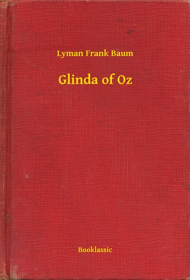 Glinda of Oz - cover
