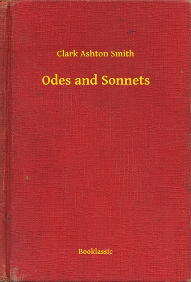 Odes and Sonnets - cover
