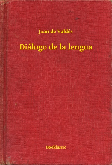 Diálogo de la lengua - cover