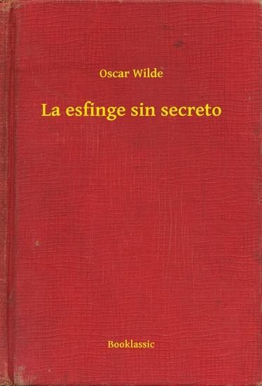 La esfinge sin secreto - cover