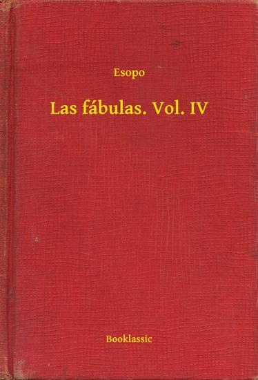 Las fábulas Vol IV - cover