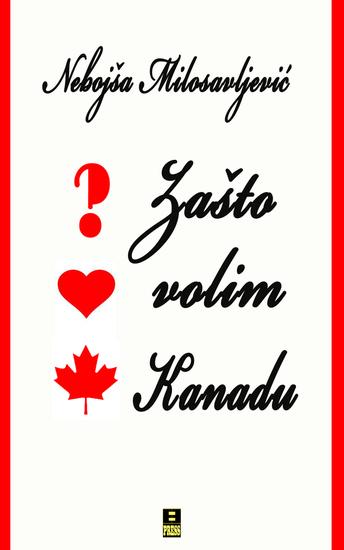 Zasto volim kanadu - cover