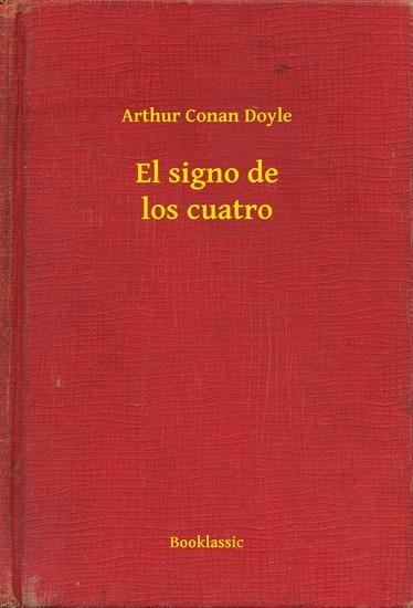 El signo de los cuatro - cover