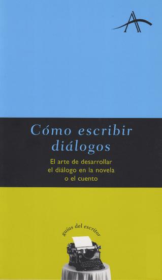 Cómo escribir diálogos - cover