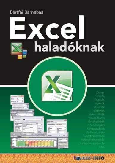 Excel haladóknak - cover