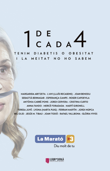 Diabetis i obesitat - El llibre de la Marató - cover