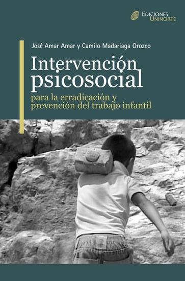 Intervención Psicosocial para la erradicación y prevención del trabajo infantil - cover