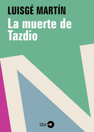 La muerte de Tadzio - cover