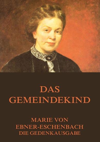 Das Gemeindekind - Erweiterte Ausgabe - cover