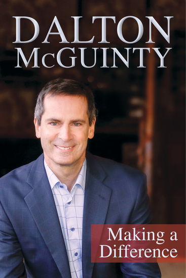 Dalton McGuinty - Making a Difference - cover