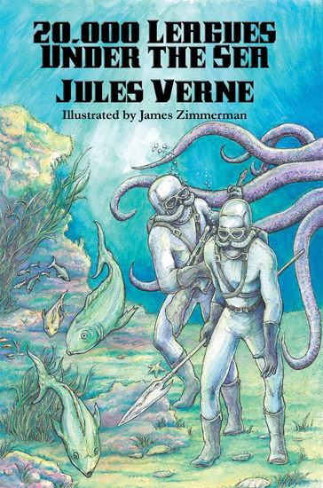 20000 Leagues Under the Sea (Illustrated Edition) - With linked Table of Contents - cover
