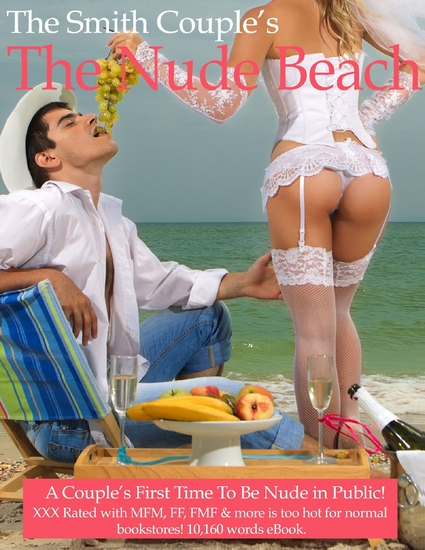 The Nude Beach a Couple's First Time Nude in Public - cover