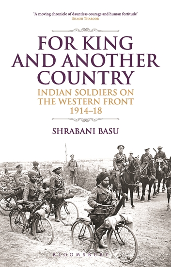 For King and Another Country - Indian Soldiers on the Western Front 1914-18 - cover