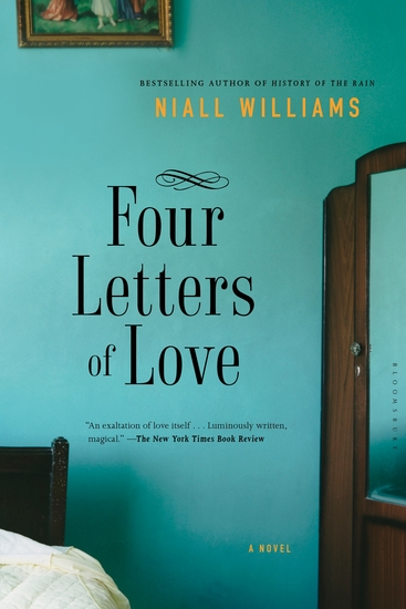 Four Letters of Love - A Novel - cover
