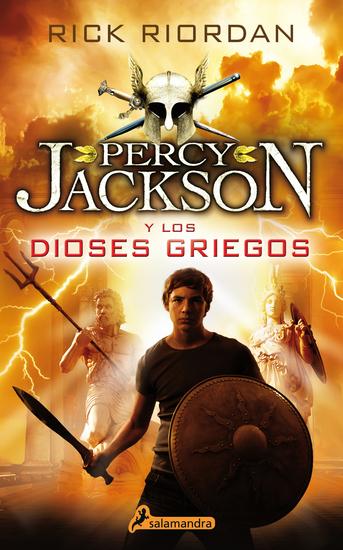 Percy Jackson y los Dioses Griegos - cover