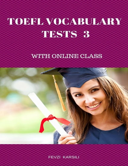 Toefl Vocabulary Tests 3 - cover