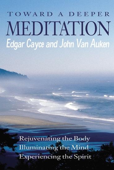 Toward a Deeper Meditation - cover