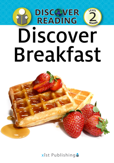 Discover Breakfast - Level 2 Reader - cover