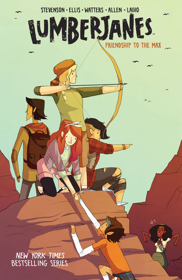 Lumberjanes Vol 2 - cover