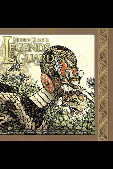 Mouse Guard: Legends of the Guard Vol 3 - cover
