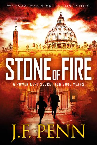 Stone of Fire - ARKANE Thrillers #1 - cover