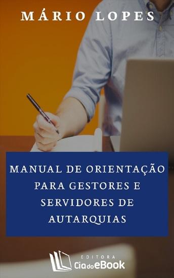 Manual de orientação para gestores e servidores de autarquias - cover