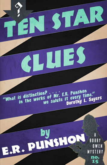 Ten Star Clues - A Bobby Owen Mystery - cover