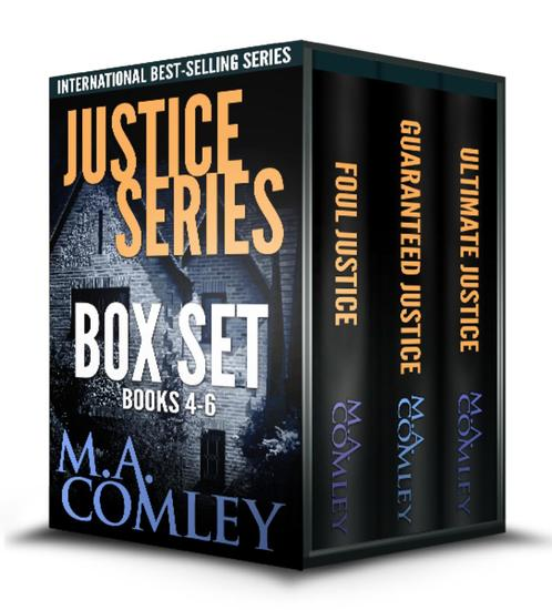 Justice Series Boxed set books 4-6 - Justice series - cover