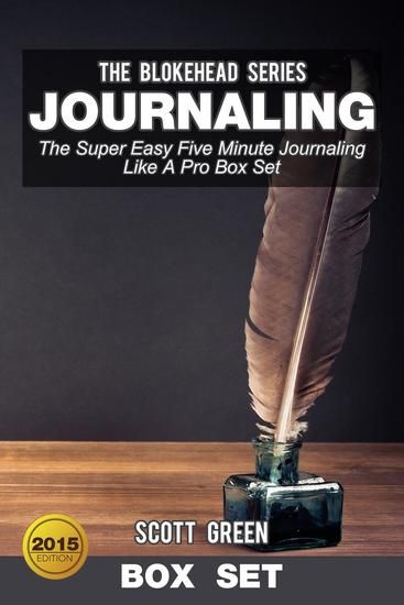 Journaling:The Super Easy Five Minute Journaling Like A Pro Box Set - cover