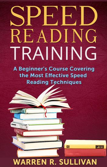 Speed Reading Training - cover