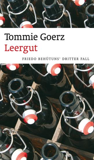 Leergut - Friedo Behütuns' dritter Fall Frankenkrimi - cover