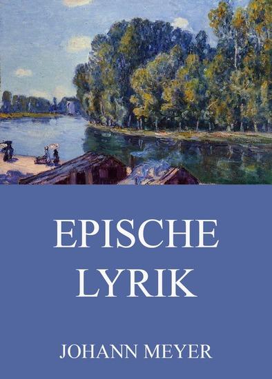 Epische Lyrik - Erweiterte Ausgabe - cover