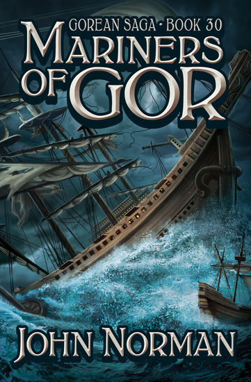Mariners of Gor - cover