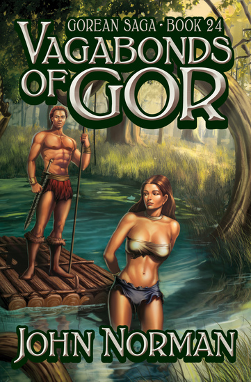 Vagabonds of Gor - cover