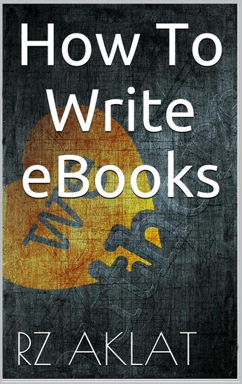 How To Write eBooks - cover