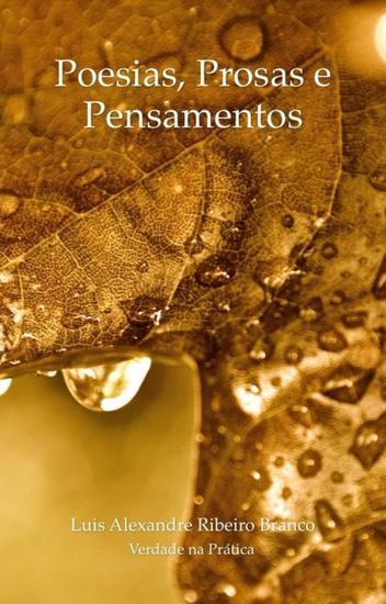 Poesias Prosas e Pensamentos - cover