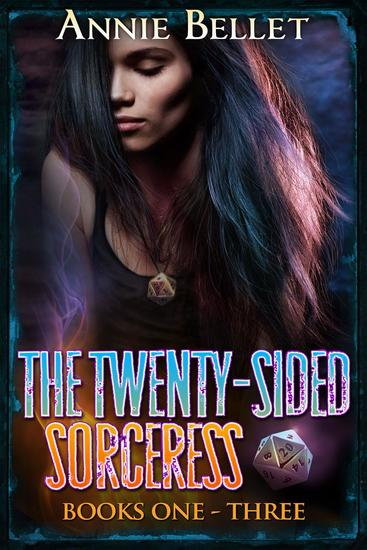 The Twenty-Sided Sorceress Series Books 1-3: Justice Calling Murder of Crows Pack of Lies - The Twenty-Sided Sorceress - cover