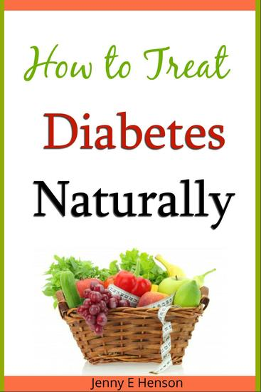 How to Treat Diabetes Naturally - cover