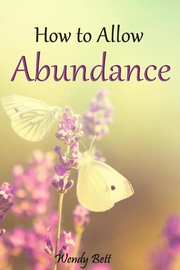 How to Allow Abundance - cover