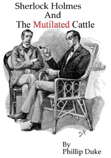 Sherlock Holmes and the Mutilated Cattle - cover
