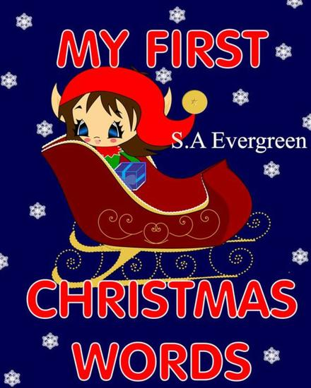 My First Christmas Words (Picture Book) - cover