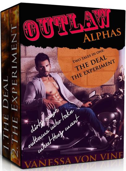 Outlaw Alphas - Erotica Anthologies - cover